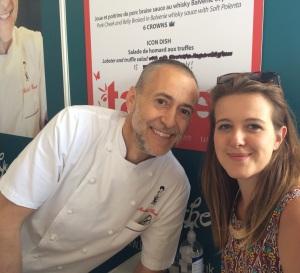 Miss Intolerant London meets Michel Roux Jr