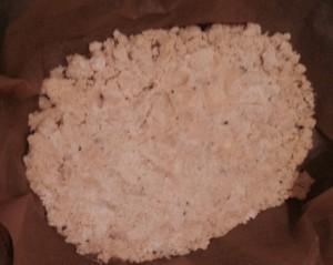 Gluten Free Vanilla & Nutmeg Crumble